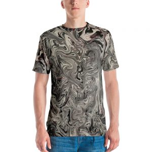 all over print mens crew neck t shirt white front 60c11129174c9