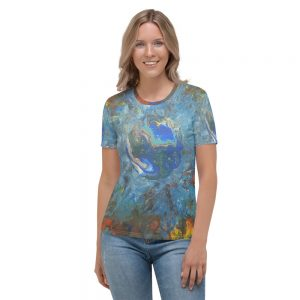 all over print womens crew neck t shirt white front 60c14721c6b87
