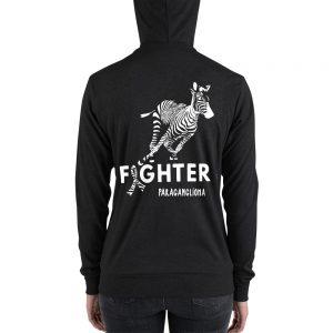 unisex lightweight zip hoodie charcoal black triblend back 60be1c049ef8f