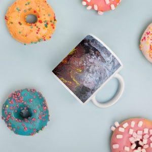 white glossy mug 11oz donuts 60bdb18e4d98f