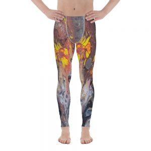 all over print mens leggings white front 60f06ca52b139